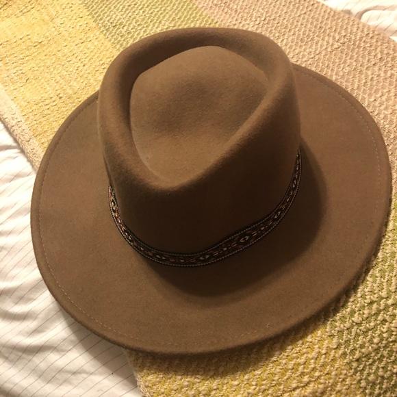 d34231df990 ASOS Other - Trendy Brown Wool Pork Pie Hat